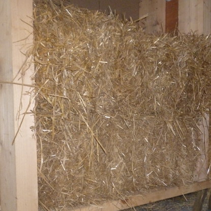 timber frame straw bale