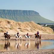 horse riding benbulben