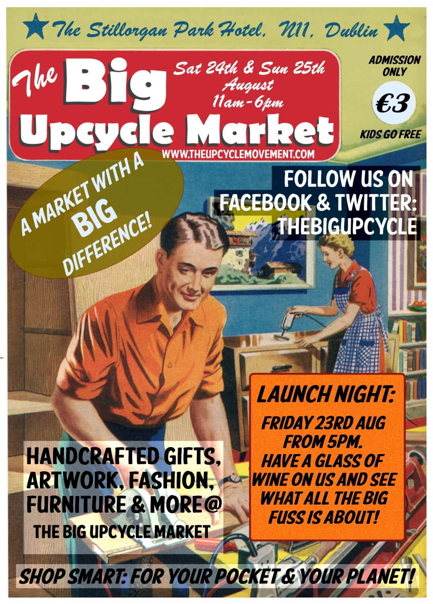 the big upcycle poster