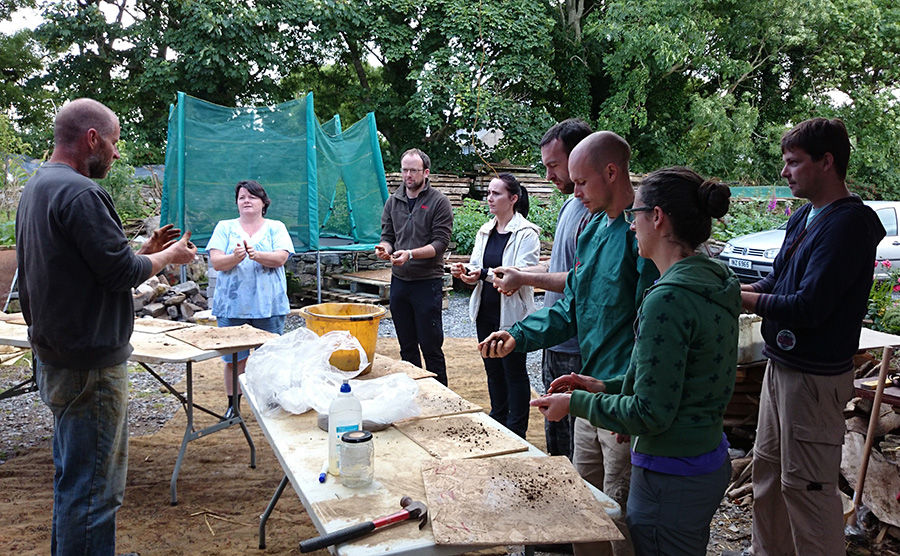 workshop at mud and wood